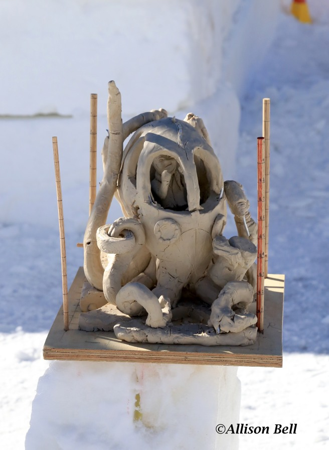 Model of sculpture 1557